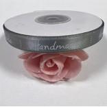 """Сатенена лента с надпис """"Handmade"""" - 1 cm - 02"""