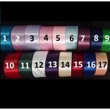 САТЕНЕНА ЛЕНТА 4,0 см - 17 цвята