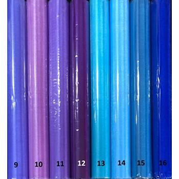 ОРГАНЗА 48 см - 10 yds - Синьо-лилава гама