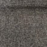 Изкуствен лен - 48 cm - 5 yds -  Черен
