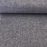 Изкуствен лен - 48 cm - 5 yds -  Сив