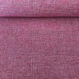Изкуствен лен - 48 cm - 5 yds -  Розов