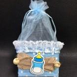 Кошнички декоративни бебешки  - 12 бр - СИНИ