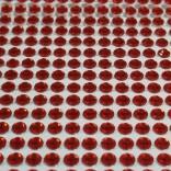 Самозалепващи акрилни камъчета 4  мм - червени