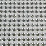 Самозалепващи акрилни камъчета 3-4  мм - прозрачни