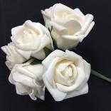 Розички от фоам 3 - 4 см  - 72 бр - Eкрю