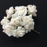 Розички от фоам 2,5 см  - 144 бр - Екрю