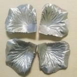 ЛИСТА ЗА ДЕКОРАЦИЯ - 40-45 броя - 17 - сребристи