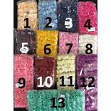 Розички от хартия - 144 бр - 13 цвята