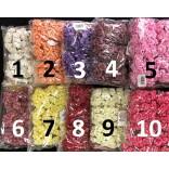 Розички от хартия 25 мм - 144 бр - 10 цвята