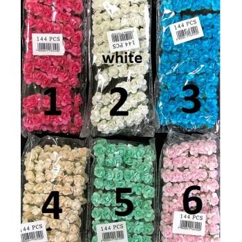 Розички от хартия - 144 бр - 3 цвята