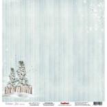 """Дизайнерски блок 12"""" х 12""""  Scrapberry Sprinkle of Snow - 10 листа"""
