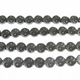 ХЕМАТИТ ИН И ЯН - 10 мм - сребрист