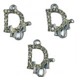 Висулка с циркони - Dior - 10 бр