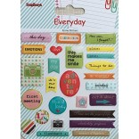 ДЕКОРАЦИИ К-Т - Стикери - Everyday - Scrapberry`s