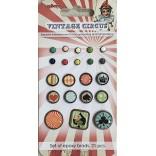 БРАДС к-т Vintage Circus - Scrapberry`s