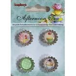 ДЕКОРАЦИИ КАПАЧКИ - Afternoon Tea - Scrapberry`s