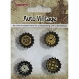 ДЕКОРАЦИИ КАПАЧКИ - Auto Vintage - Scrapberry`s