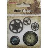 БРАДС к-т Auto Vintage - Scrapberry`s